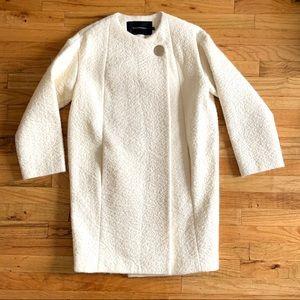 TARA JARMON Alpaca-Wool Coat - 36